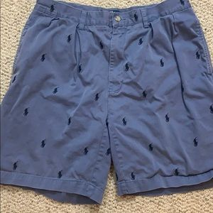 Men's Polo shorts with logo